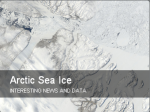 Arctic sea ice blog